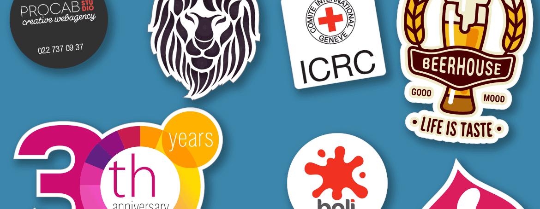 Business stickers lables and decals stickeryeti switzerland